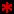 red asterisk